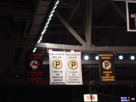 Providence Bruins Championship Banners