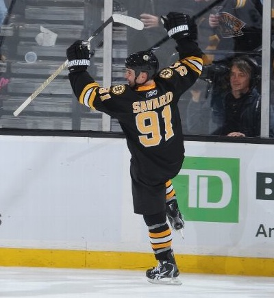 Marc Savard Hat Trick