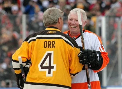 Bobby Orr and Bobby Clarke Winter Classic