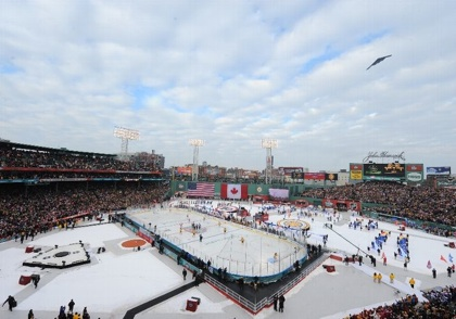 Stealth Fly Over Winter Classic