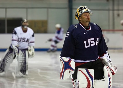 Tim Thomas Team USA
