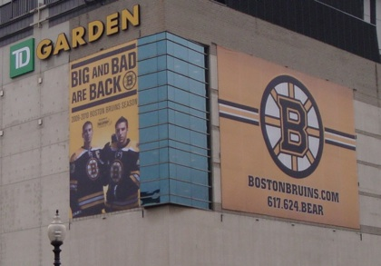 BIg Bad Bruins TD Garden Boston
