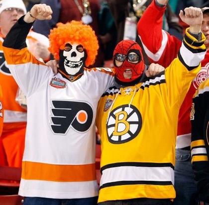 boston bruins philadelphia flyers playoffs