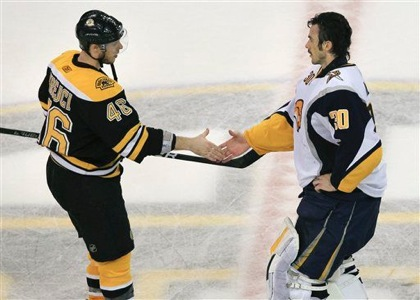 david krejci ryan miller