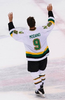 mike modano northstars uniform