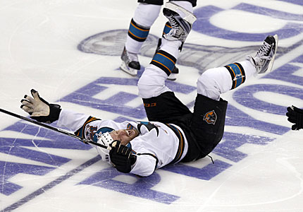 joe thornton overtime winner